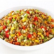 Egyptian lentil salad