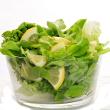 Garlic lemon salad