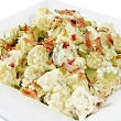 King crab and potato salad