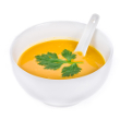 Squash bisque with ginger