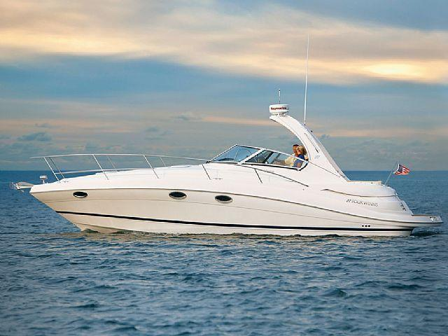 Description Four Winns Express Cruiser V 338, power yacht