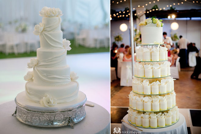 wedding cakes by Cakes by Wade