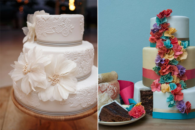 Wedding cakes by Roxanne-Flouquet