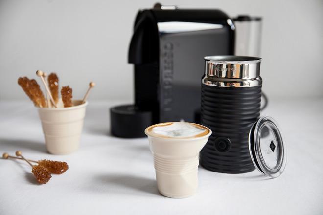 how to make coffee with Nespresso Umilk