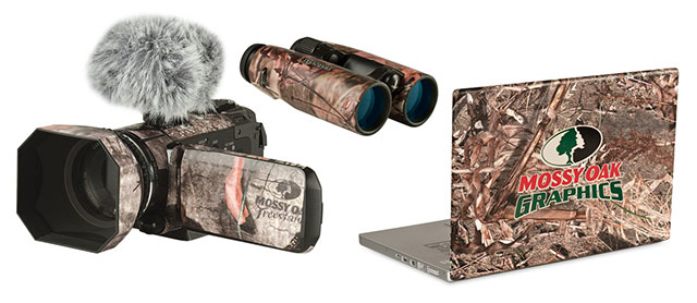 Camo wrapped products
