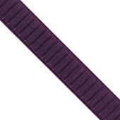 """1 1/2"""" Wired Pleated Ribbon - 10 Yards (Purple)"""