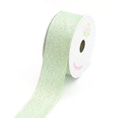 """1 1/2"""" Metallic Shimmering Ribbon - 10 Yards (Green)"""