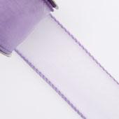 "1 1/2"" Wired Organza Ribbon - 10 Yards (Lavender)"