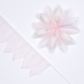 """2"""" Star Shape Pull Pouch (Light Pink)"""