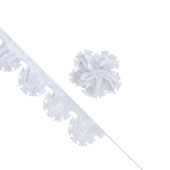 """2"""" Butterfly Pull Pouches - 10 Yards (White)"""