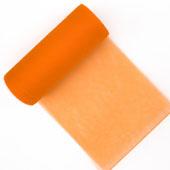 "6"" Tulle Spool - 25 Yards (Orange)"