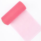 "6"" Tulle Spool - 25 Yards (Hot Pink)"