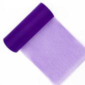 """6"""" Tulle Spool - 25 Yards (Purple)"""