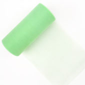 "6"" Tulle Spool - 25 Yards (Mint Green)"