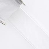 "1 1/2"" Wired Organza Ribbon - 10 Yards (White)"