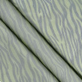 "58"" Organza Zebra Sheets - 3 Yards (Apple Green/Black)"