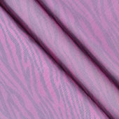 "58"" Organza Zebra Sheets - 3 Yards (Fuchsia/Black)"