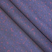 "58"" Organza Leopard Sheet - 3 Yards (Purple/Fuchsia)"