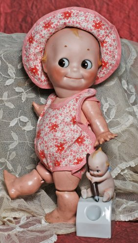 Lot Dolls & Kewpies