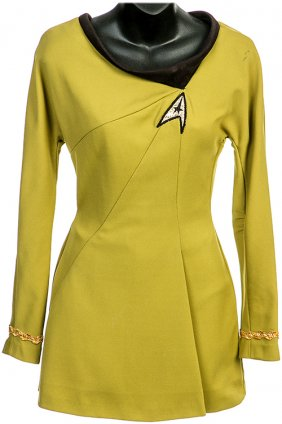 Lot 50 Years of Star Trek Props and Costumes