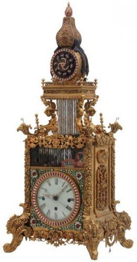 Lot  Cataloged Antique & Clock Auction