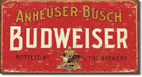 Lot 3/2 METAL ADVERTISING SIGN AUCTION