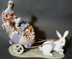 Lot  Lladros, Dolls & Collectibles Auction