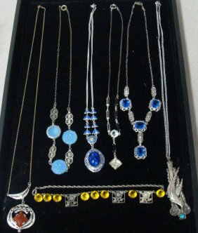 Lot  Vintage Costume & Fine Jewelry, Coins,