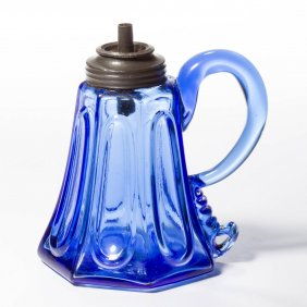 Lot 18th & 19th Century Glass & Lighting