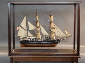 Lot Ship Model & Nautical Antique Auction