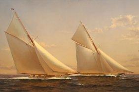 Lot Ship Model & Nautical Antiques