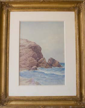 Lot American & European Paintings and Lithographs