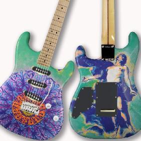 Lot Little Kids Rock Celebrity Guitar Auction