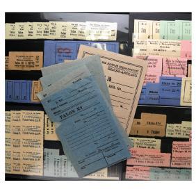 Lot Dr. Alan York: Philately & WWII Numismatics