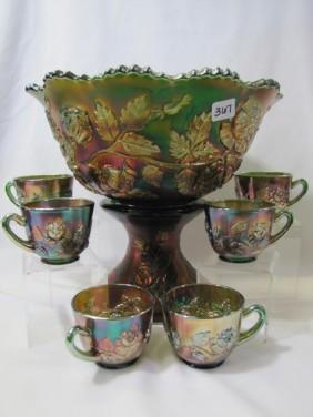 Lot Carnival Glass Auction Day 2 Rinehart