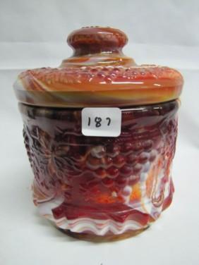 Lot Slag & Fenton Glass Auction