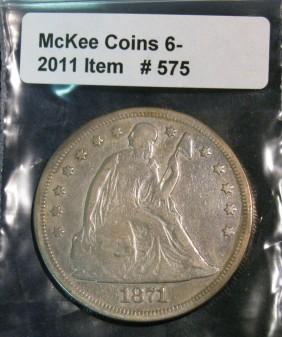 Lot Mckee Coins Live Auction Session #1 Lots1-800