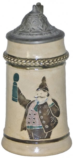 Lot May 30  ANTIQUE Stein Beaker Plaque Auction
