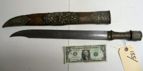 Lot Antique Weapons, Swords, Daggers, Knives