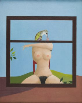 Lot Contemporary Art: Surrealism & Magic Realism