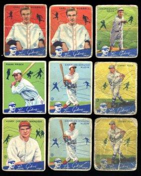 Lot 1930s Sports Card Sale, Fine Art & Antiques