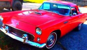 Lot 1955 Thunderbird, Fine Art, Jewelry, Antiques
