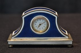 Lot Enamel Clocks , Porcelain, Glass & Japanese