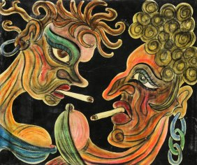 Lot Modern, Folk & Self-Taught Art