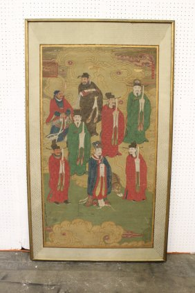 Lot Chinese Antiques, paintings, & Estate Auction