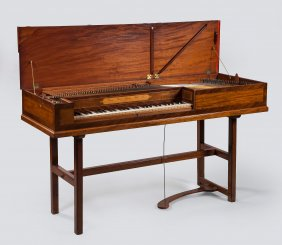 Lot The Burnett Collection of Early Keyboards