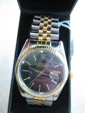 Lot Gold & Diamond Jewelry & Rolex Watches