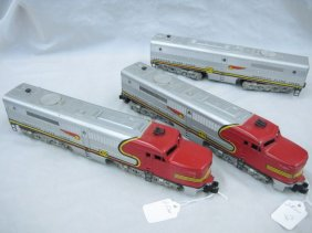 Lot American Flyer Trains & Jewelry