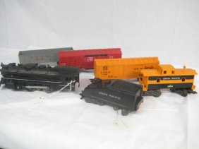 Lot Marx Trains