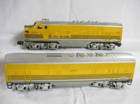 Lot Lionel Trains